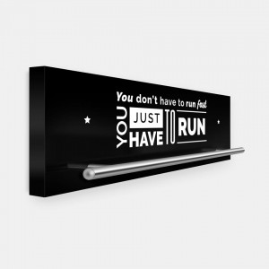 You don't have to run fast - You just have to run